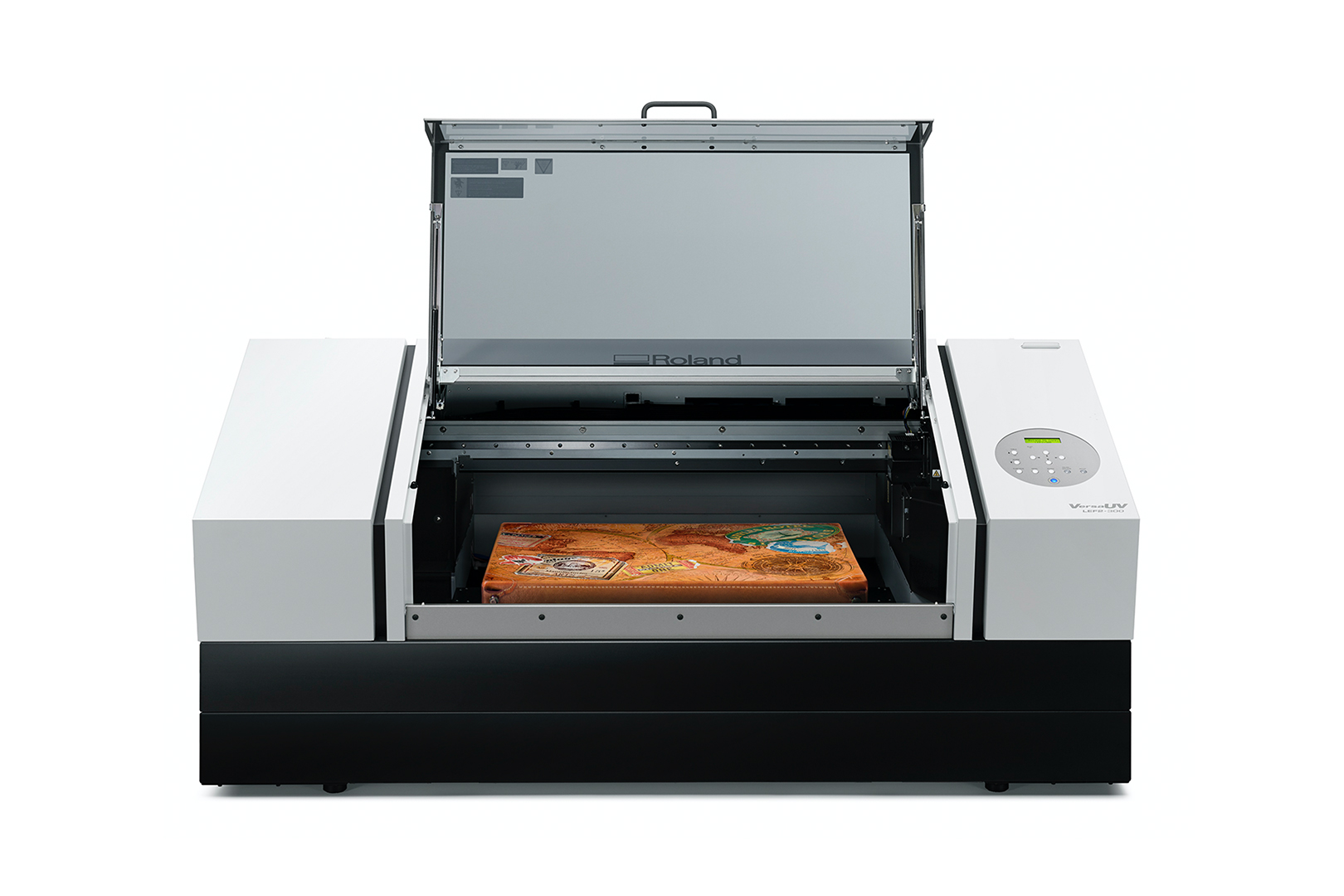 VersaUV LEF2-300D Flatbed UV Printer, Roland DGA Corporation